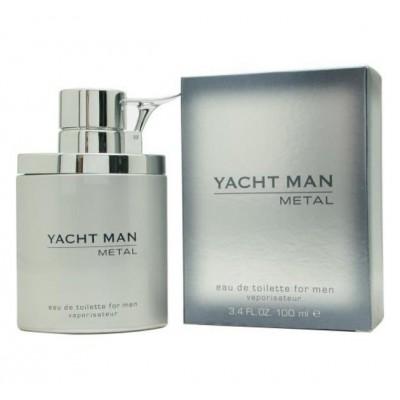 ادکلن مردانه یاخ من نقره ای (yacht man metal)